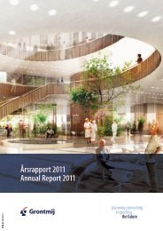 Årsrapport 2011 Annual Report 2011 - Grontmij