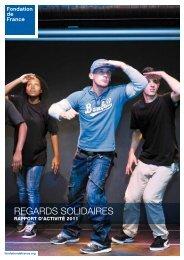 Rapport annuel 2011 - Fondation de France