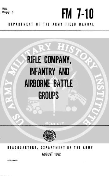 Rifle Company, Infantry and Airborne Battle Groups - CIE Hub