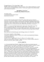 Consiglio di Stato, sez. VI, 6 agosto 2012, n. 4519 ... - Ediltecnico