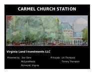 CARMEL CHURCH STATION - Caroline County!
