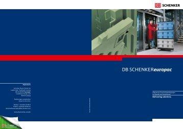 DB SCHENKEReuropac - Schenker Deutschland AG - DB Schenker