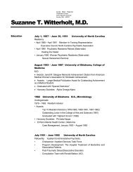 Suzanne T. Witterholt, M.D. - Behavioral Tech, LLC