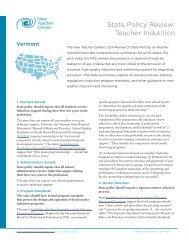 Vermont - New Teacher Center