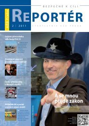 Reportér 2011/2 - AŽD Praha, sro