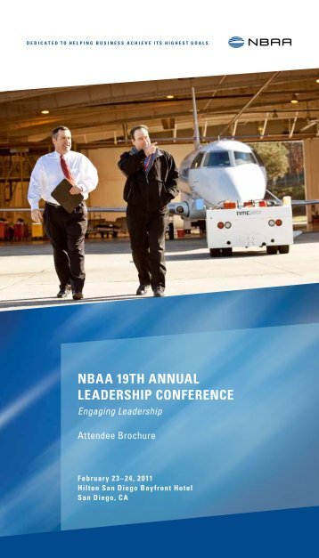 Review the Attendee Brochure - NBAA