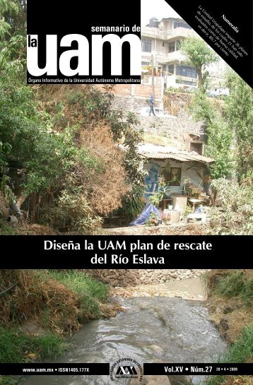 Diseña la UAM plan de rescate del Río Eslava