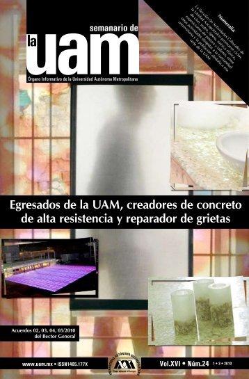 Egresados de la UAM, creadores de concreto de alta resistencia y ...