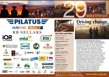 conference program 2013 - Northern Territory Cattlemen's Association