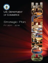 Strategic Plan - Department of Commerce