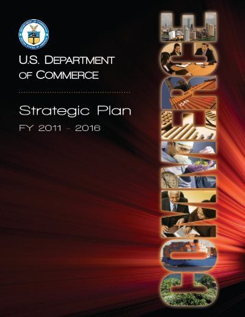 Strategic Plan - Department of Commerce