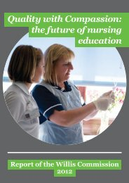 Quality with Compassion: the future of nursing ... - Nursing Times