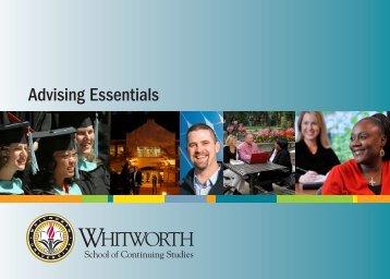 Advising Essentials