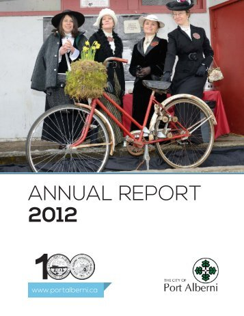 ANNUAL REPORT 2012 - City of Port Alberni
