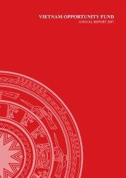 VOF 2007 annual report - VinaCapital