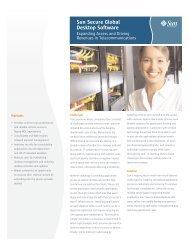 Sun Secure Global Desktop Software: Expanding Access and ...