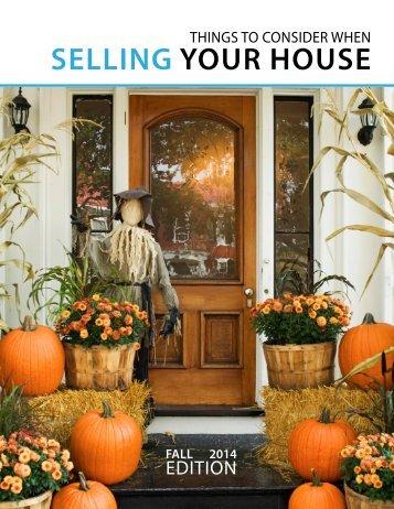SellingYourHouseFall2014