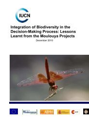 Lessons Learnt from the Moulouya Projects - IUCN