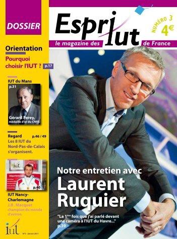 Laurent Ruquier - IUT de Metz