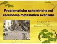 Problematiche scheletriche nel carcinoma ... - Oncologia Rimini