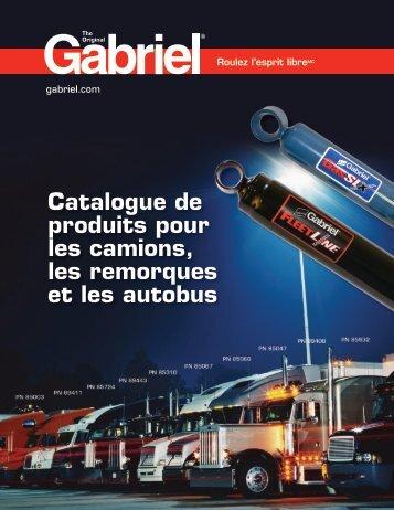 Catalogue de produits pour les camions, les remorques et ... - Gabriel