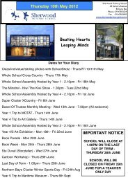 10 May 2012 Added - Sherwood School