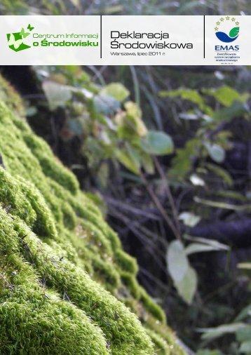 deklaracja11_08 - Centrum Informacji o Środowisku