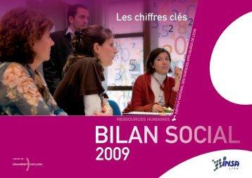 chiffres clés de 2009 - INSA de Lyon