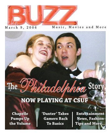 NOW PLAYING AT CSUF - The Buzz