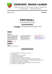 GR-Protokoll 11542-2 (109 KB) - .PDF - Brand-Laaben