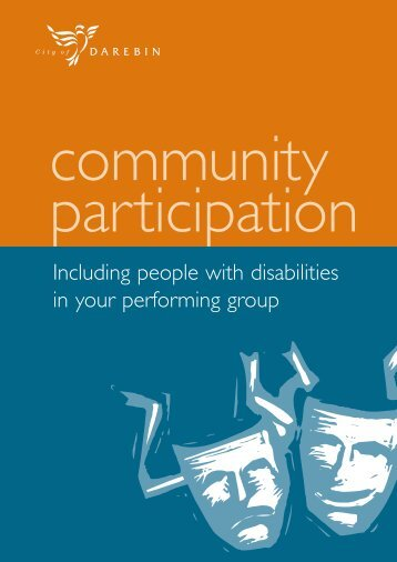 Including People with Disabilities in Performance - City of Darebin