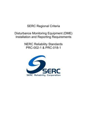 SERC Reg Criteria_Distur Monitoring Equip Rev 13 (06-16-11).pdf