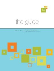 The Guide 2013 - Highmark