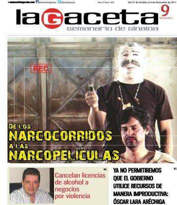 narcopeliculas narcocorridos - SEMANARIO LA GACETA