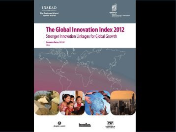 Global innovation indexes