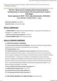 Pobierz ogłoszenie (PDF 116 kB) - Dolnośląski Ośrodek Doradztwa ...