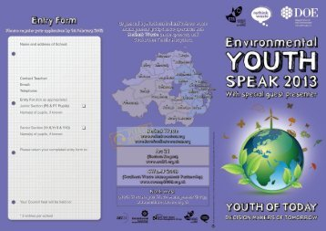 Environmental Youth Speak 2013 - Castlereagh Borough Council