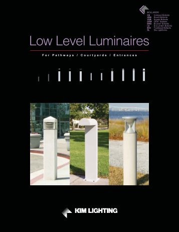 Low Level Luminaires - Kim Lighting
