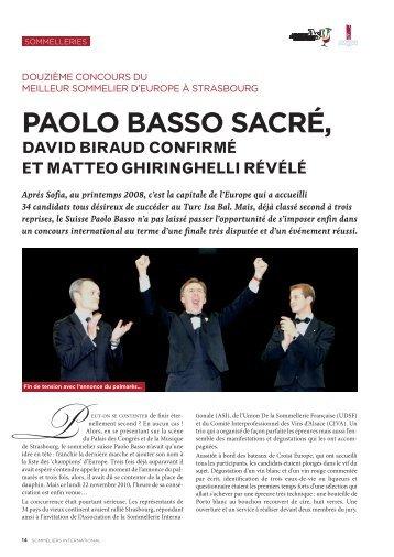 Paolo Basso sacré, - Luciano Sandrone