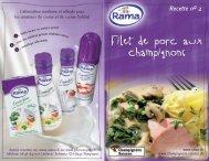Filet de porc en champignons - Champignon Suisse