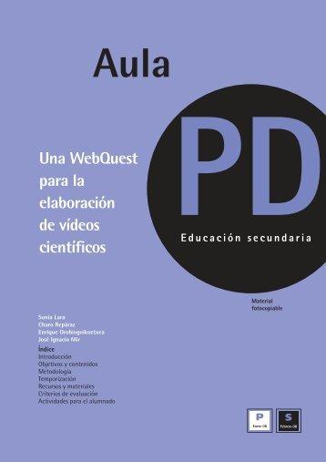 Webquest para la elaboración de un viídeo educativo - CPR Ceuta
