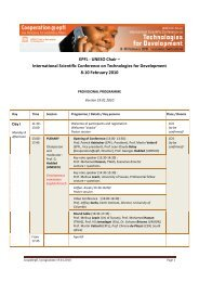 International Scientific Conference on Technologies for ...