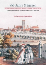 850 Jahre München · Gemeinschaftskatalog der Antiquariate Robert ...