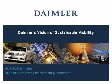 TrueBlueSolutions Daimler's Vision of Sustainable Mobility - H2Roma
