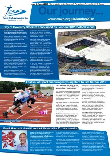 Edition 15 - August 2010 - Coventry 2012 - CSWP