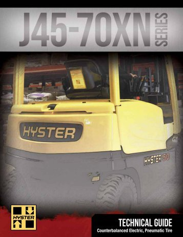J45-70XN TechGuide - Hyster Company