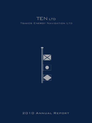 2010 Annual Report - Tsakos Energy Navigation