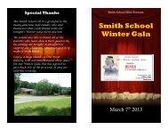 Smith School Winter Gala - Smith Elementary School