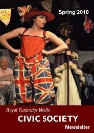Display Spring 2010 - The Royal Tunbridge Wells Civic Society