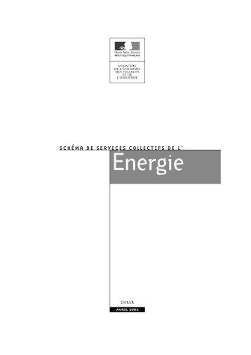 """""""Le schéma des services collectifs de l'énergie ... - Vie publique"""